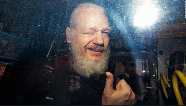 ASSANGE IS FINALLY FREE