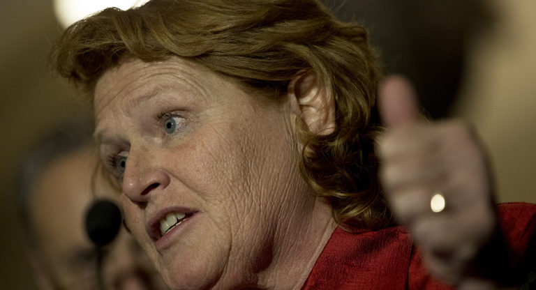 Heitkamp Talk Of Hanging The President, Larsen Criticizes Ilhan Omar, Guess Who Is Crucified?